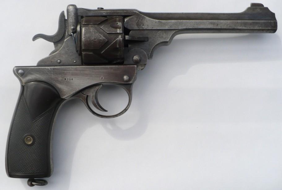 revolver webley fosbery